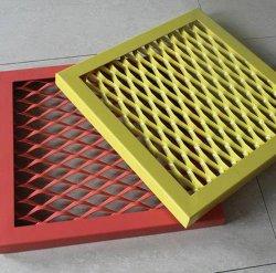 Los paneles de malla de metal expandido de aluminio, paneles de malla de aluminio perforado