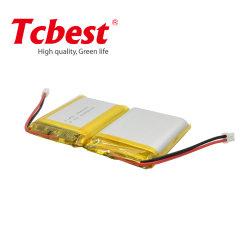3,7 В Lp104050 2400Мач литий-полимерные аккумуляторы для беспроводной гарнитуры Bluetooth