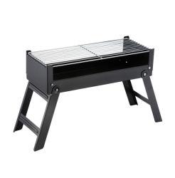 Venta caliente al aire libre Camping Mini portátil plegable el carbón de leña Barbacoa Muestra gratuita