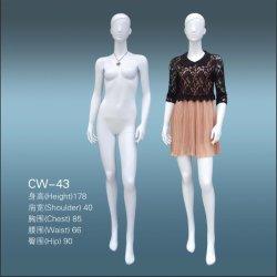Alta calidad de visualización personalizada maniquí femenino