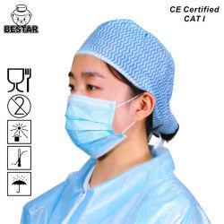 CE 認証タイプ IIR 3 プライ医療マスク(ラテックスフリー) イヤーループ