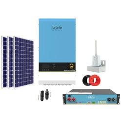 TBB Smart Off Grid Kit Solar 4kw 5kw 6kw Solar Power System Home mit Batterie für Energiespeichersystem