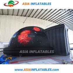 デジタル映画館のための膨脹可能な携帯用投射のドームのテントの移動式プラネタリウム