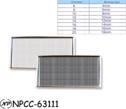 ملف الكمبيوتر الدفتري اللولبي من البلاستيك المعدني أحادي الحلقة الملزم السلك
