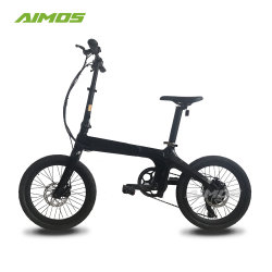 36V 7ah Batteryの20inch Folding Carbon Fiber Electric Bike