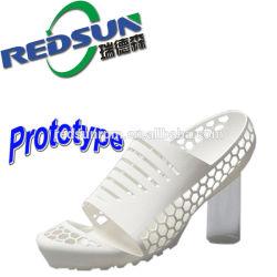 Prototype van de Schoen Pritning van de Leverancier van het Prototype van Redsun van Ningbo het Snelle Gouden 3D
