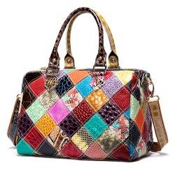 Qualitäts-Form handgemachte Cowhi lederne kaufende Luxuxmarke der Handtaschen-Verteiler-Frauen-Großverkauf-Markt-Dame-Women Ladys Designer Shoulder kein verwendeter Beutel