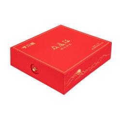 Spezieller Fach-Papier-Tee-Kasten mit Befestigungsteil-Tasten