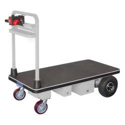 物品取扱いのモーターを備えられたプラットホーム手のカートの屋外の電気トロリー発動機