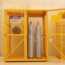 Cage de stockage de vérin à gaz combinaison double armoire