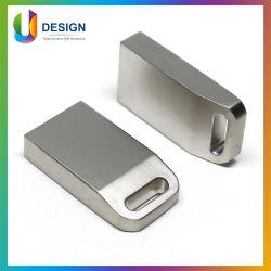 محرك أقراص USB 2.0 معدني صغير مخصص شعار USB Flash محرك الأقراص شعار الليزر الشخصي لـ OEM محرك أقراص USB/برنامج تشغيل USB