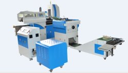 Automatische Notizbuch-Hersteller-Maschine, Buch-Gehäuse in der Maschine, Automobil-eindrücken und faltende Maschine, völlig Selbstfall und Verbindung, die Zeile Vkd390A bildet