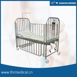 Aço inoxidável rampa de alta crianças cama (THR-CB13)