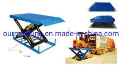 Грузовиков погрузки/разгрузки стол ножничного типа Электрический подъемный стол Hy2500