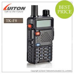 VHF/UHF 듀얼 밴드 R Adio Tk-F8 Walkie Talkie