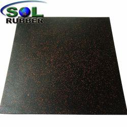 帯電防止高品質の柔軟性の体操の床のゴム製フロアーリング