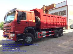 Sinotruk HOWO 6X4 VEÍCULO CAIXA BASCULANTE 40 Ton Caminhão Basculante para Serviço Pesado
