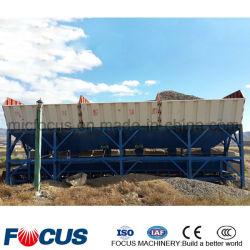 배지대, PLD2400 콘크리트 배칭 기계, 배터재 집계