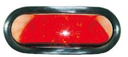 """Auto светодиод 6""""овальный индикатор сигнала поворота для заднего фонаря освещения погрузчика"""