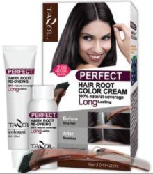 La raíz de cuidado del cabello Tazol retocar el color del cabello Crema 15ml+20 ml