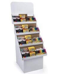 Qualitäts-kundenspezifischer Pappausstellungsstand