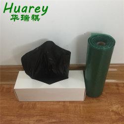 Hot Sale compostable biodégradable des déchets écologique chien noir merde sac poubelle en plastique pour le stationnement