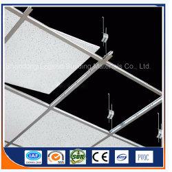 天井Tiles/T-Grid/Ceiling T棒か天井の格子コンポーネントまたは主要なティーまたは側壁角中断するためのティー棒