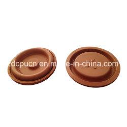 Diaframma di gomma quadrato della guarnizione della guarnizione di rinforzo plastica ad alta pressione della pompa PTFE Viton