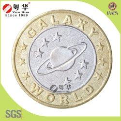 Moneta simbolica d'ottone di colore su ordinazione all'ingrosso del mercato 2