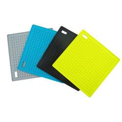 Частные логотип посуда короткого замыкания силикон термостойкий коврик