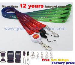 Kundenspezifische Identifikation-Kartenhalter-Abzuglinie mit Zug-Bandspulen