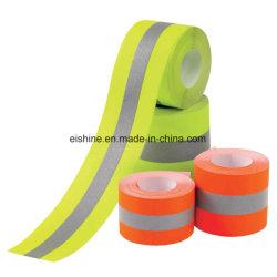 E-блеск огнеупорный светоотражательная лента ткань из хлопка волокна Nomex материал в соответствии с EN20471 стандартной