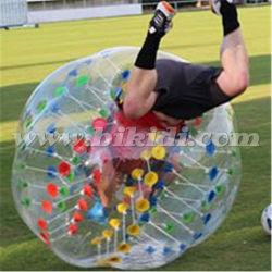 certificat CE points colorés Bubble ballon de soccer pour les adultes D5084