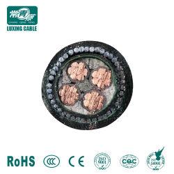 IEC Norma BS 0.6/1kv cabos de alimentação com Cu/XLPE/Swa/PVC