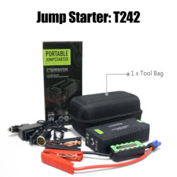 Pilha recarregável Bateria de carro Jump Starter 20000 mAh com a bateria de polímero de lítio