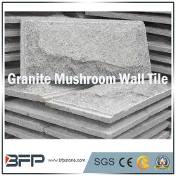 G603 자연적인 화강암 도와 버섯 벽 클래딩 도와