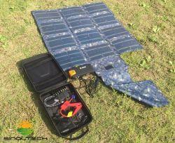 طقم شاحن يعمل بالطاقة الشمسية بقوة 30 واط مع السجائر العسكرية (SP-030K)