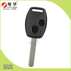 Custom High Quality New Product 2 Button Remote Transponder Car Key for Honda Car Lock From China