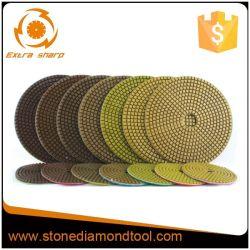 Diamond-de-chaussée humides/secs de tampons de dépolissage de polissage pour Marbre Granit/