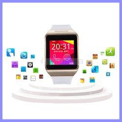1.50inch 실리콘 접촉 스크린 Bluetooth 최고 싼 시계 SIM 카드 사진기 기능을%s 가진 이동할 수 있는 셀룰라 전화 지능적인 방수 인조 인간 시계 전화
