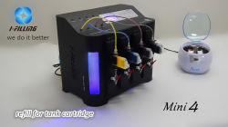 Kit intelligente di Refil della macchina/inchiostro di rifornimento della cartuccia della macchina della ricarica dell'inchiostro