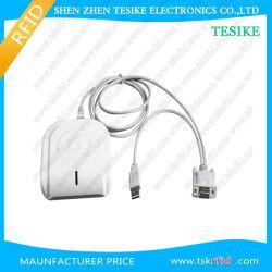 Desktop RFID USB do leitor de cartão MF08 Leitor Chip Plug & Play