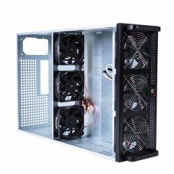 7 GPU Bitcoin抗夫のBareboneシステム採鉱ケース