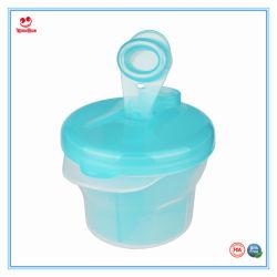 Tres celdas Grid cuadro práctico bebé leche en polvo de verificación para el cuidado del bebé