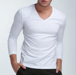Barato Personalizar Rayon/spandex homens T Shirt Simples