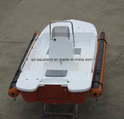Aqualand 13pieds 4m ponton gonflable River Boat Bateau en fibre de verre/Bass/kayak/canot (130)