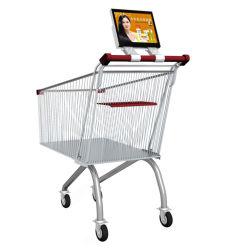 10 VideoLCD van de Media van de Reclame van het Winkelcomplex van de duim HD Vertoning, de Digitale Signage HD van het Netwerk van WiFi Speler Van verschillende media van de Advertentie