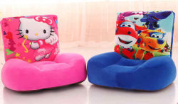 Saco de feijão Peluche Banco cadeira para crianças, animais fofos sofá macio o assento