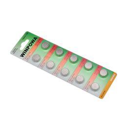 Sustitución de baterías de NiMH 1,5V Zinc Manganeso Pilas de botón LR44