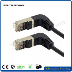 CAT6un câble de pontage réseau coudée de 90 degrés le câble de raccordement